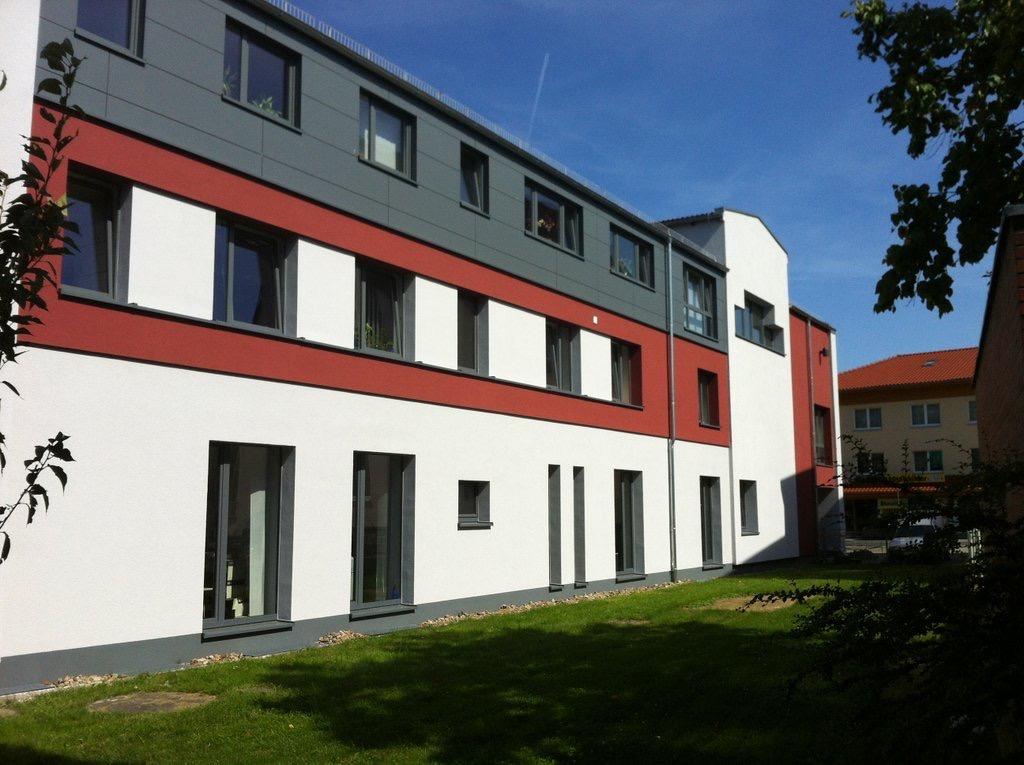 Rathaus-Sanierung WDVS-Fassade