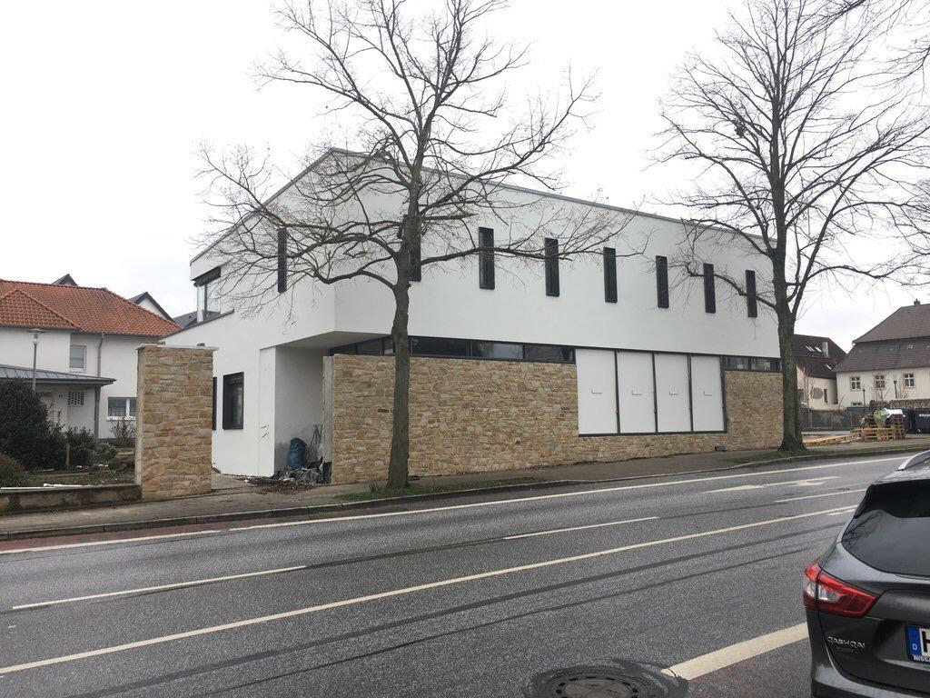 Neubau eines Pfarrhauses WDVS