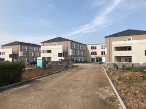 Neubau Pflegeheim mit Mineralwolle-Dämmung